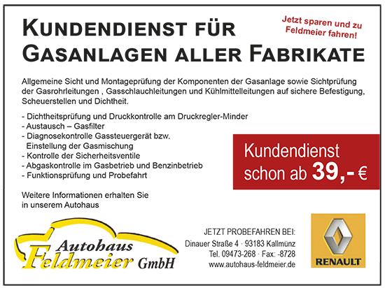 Gasanlagen-Kundendienst